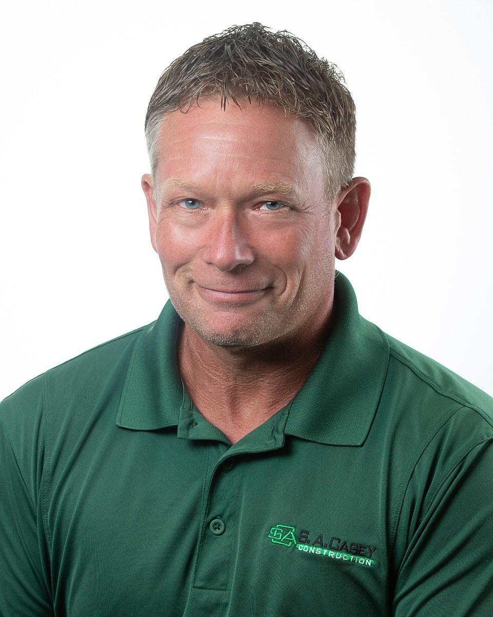 S. A. Casey Construction Team Member David Iler