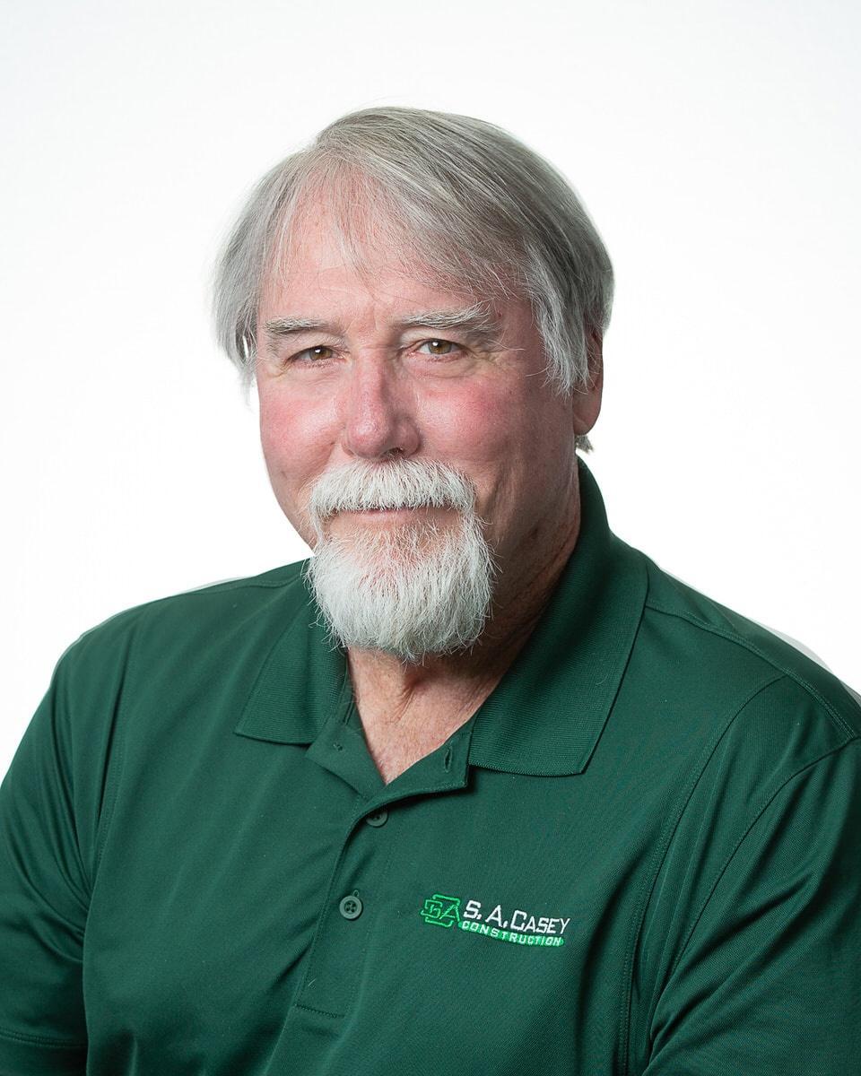 S. A. Casey Construction Team Member Jerry Boehm