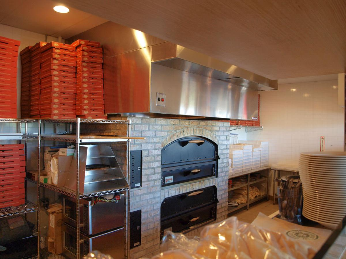 Clermont Commercial General Contractor - Pizza Oven