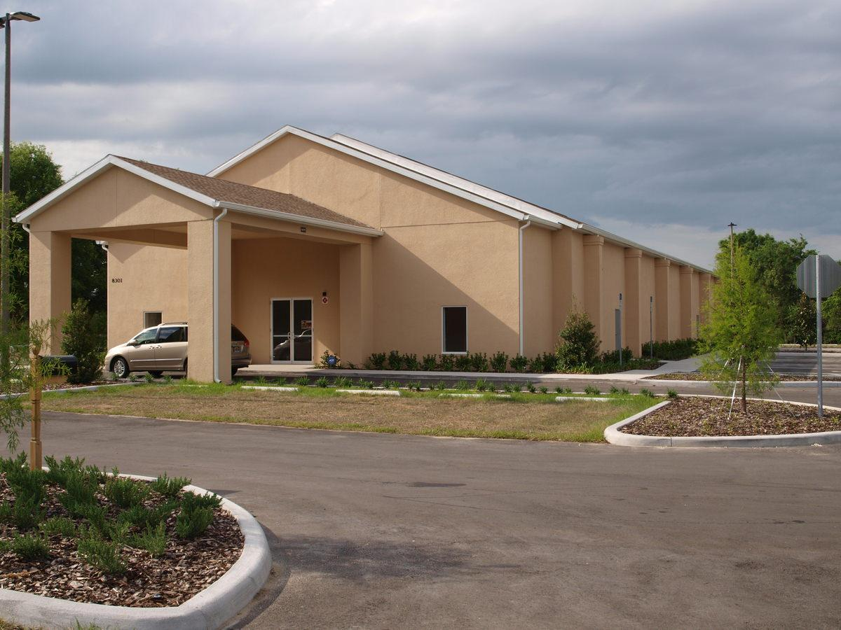 Ocoee Commercial General Contractor - Church Covered Entry
