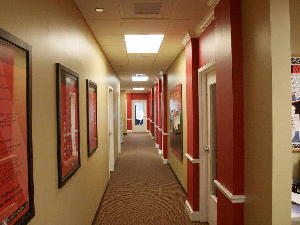 Oviedo Commercial General Contractor - Realtor Office Hallway