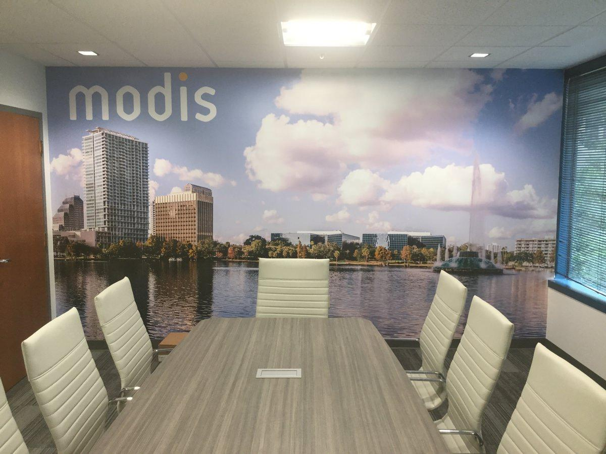 Orlando Tenant Build Out Conference Room Inside