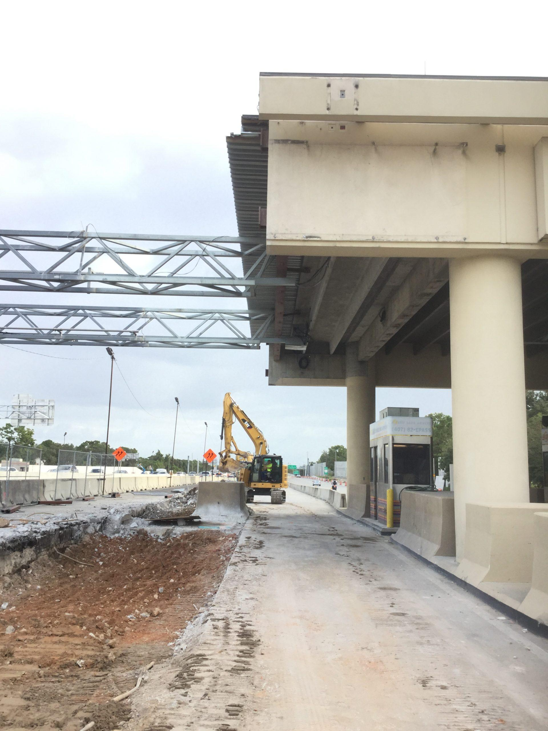 General Contractor for Expressway Toll Plaza Renovation
