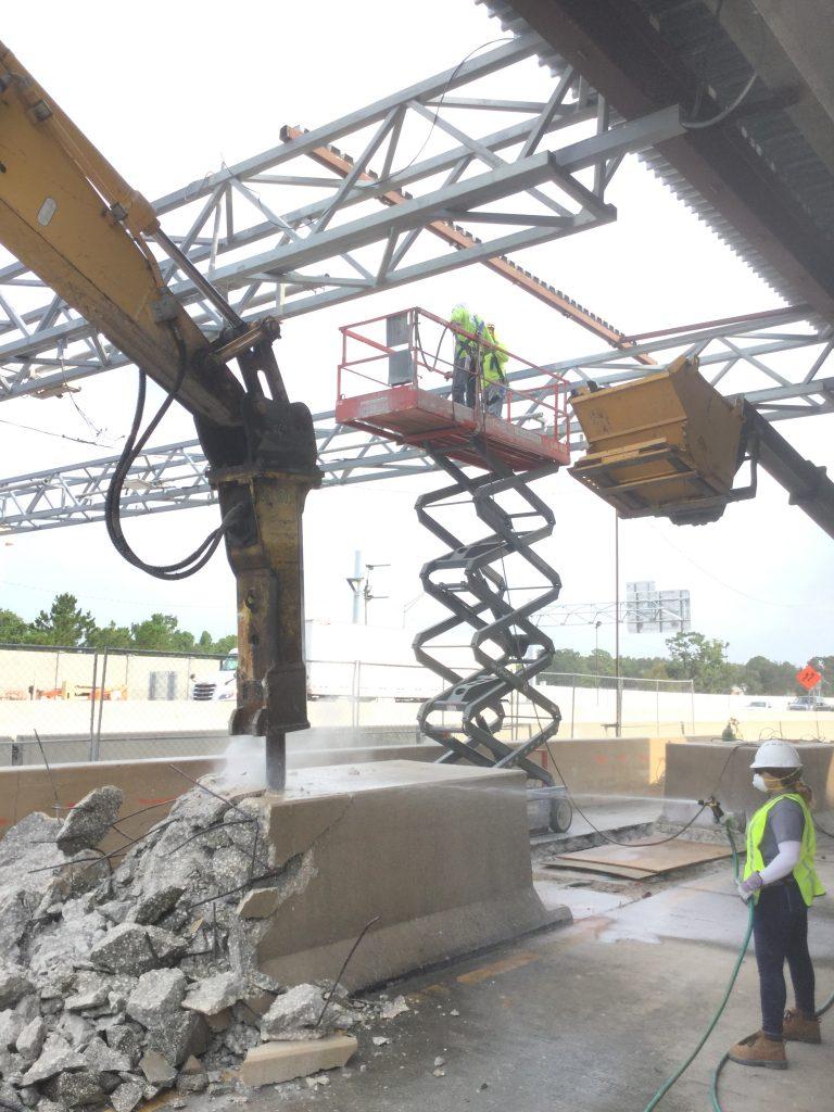 Orlando GC Expressway Toll Plaza Structural Steel Demolition