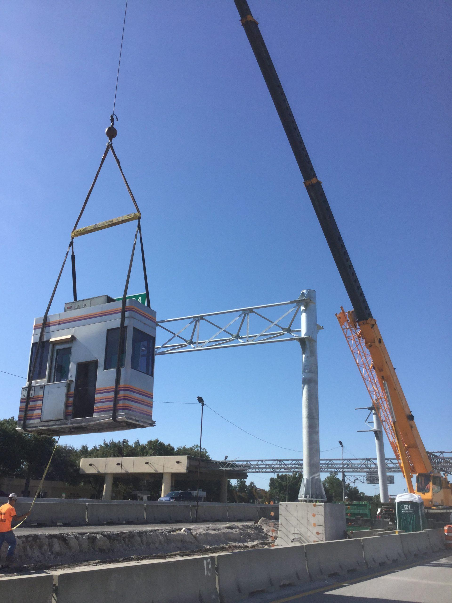 Orlando General Contractor removes Expressway Toll Plaza