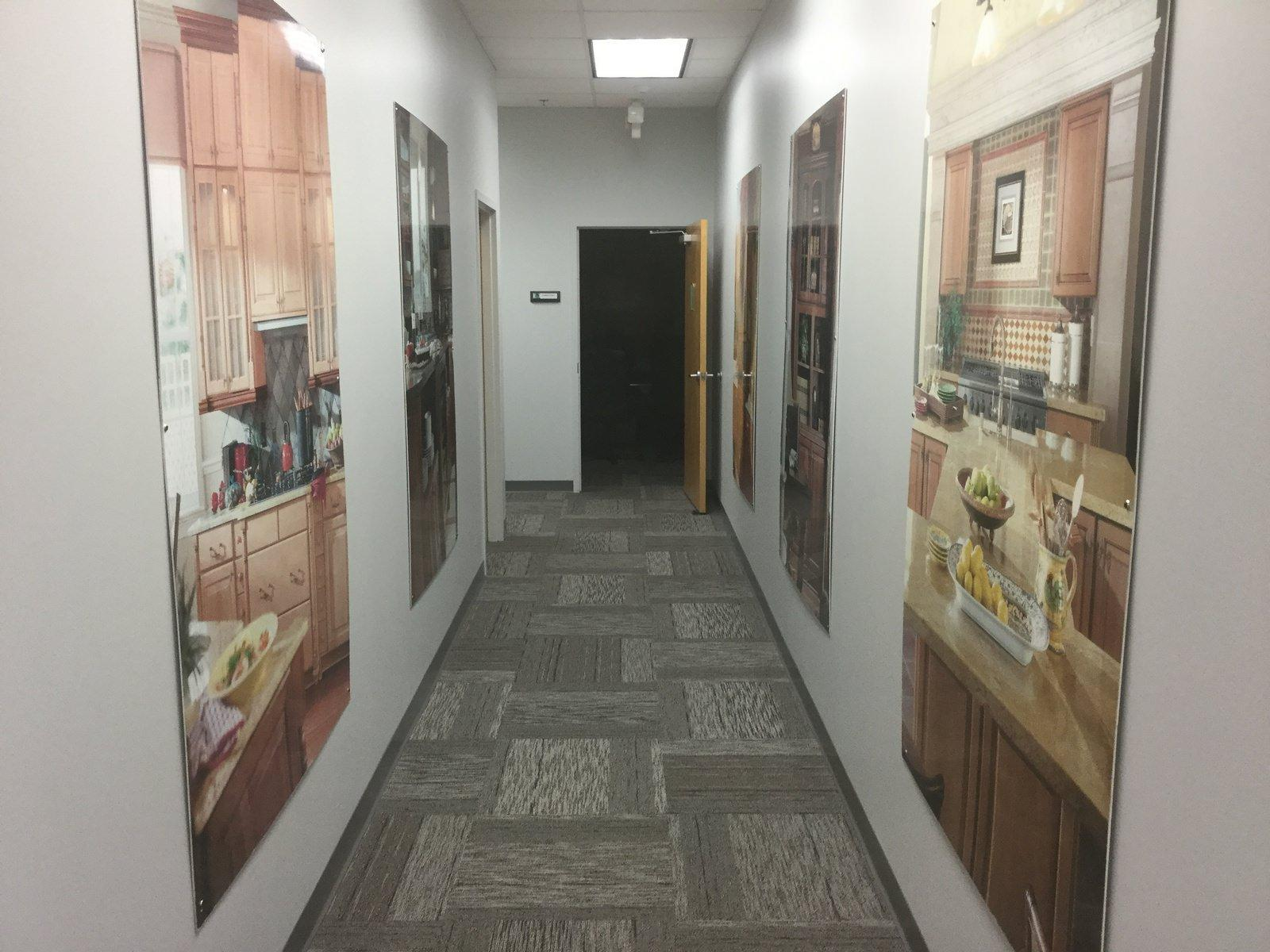 Orlando Warehouse GC for Office Corridor
