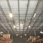 Industrial Warehouse GTE Big Ass Fan Renovation