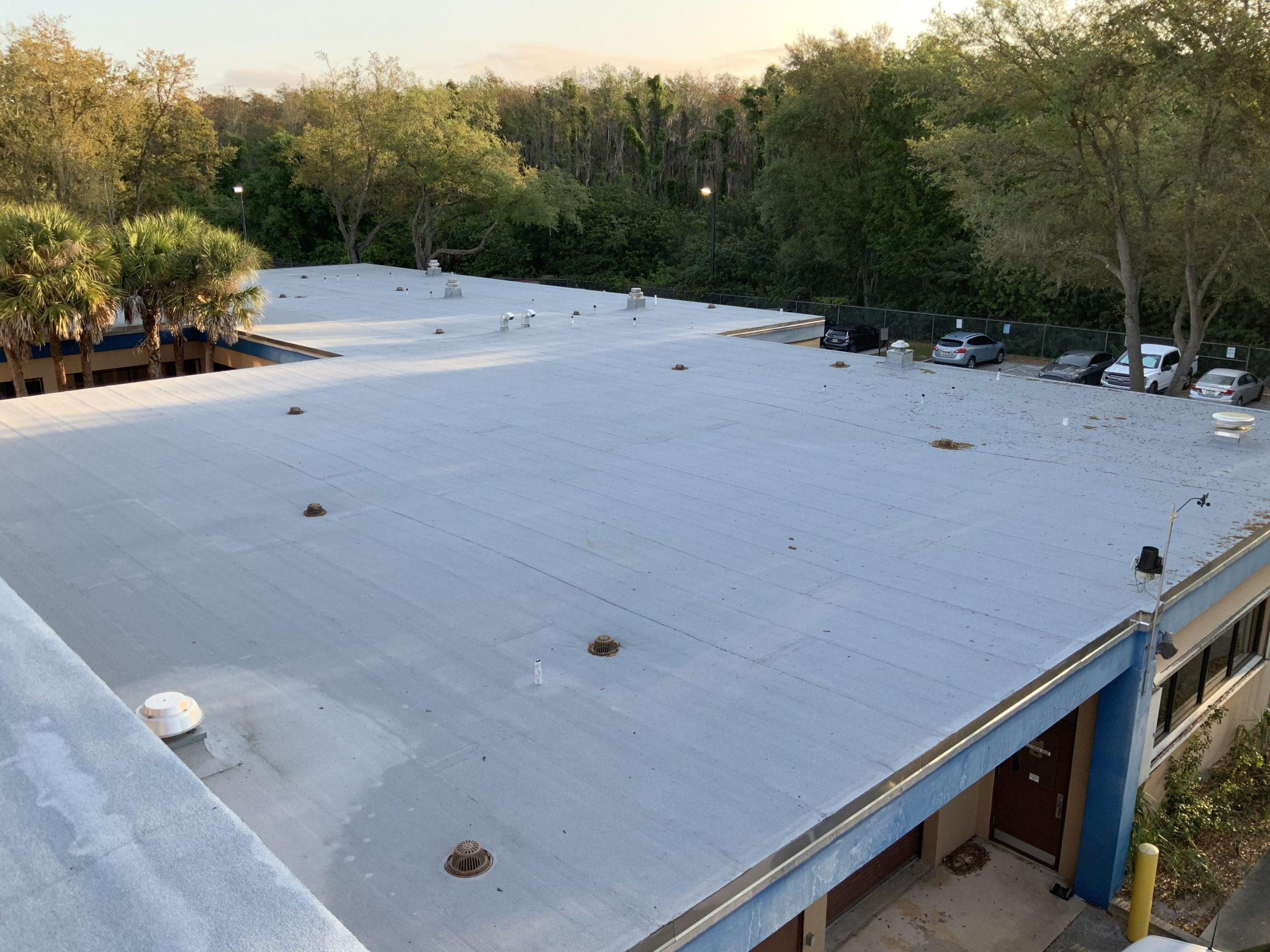 Orlando General Contractor Commercial Roof Replacement