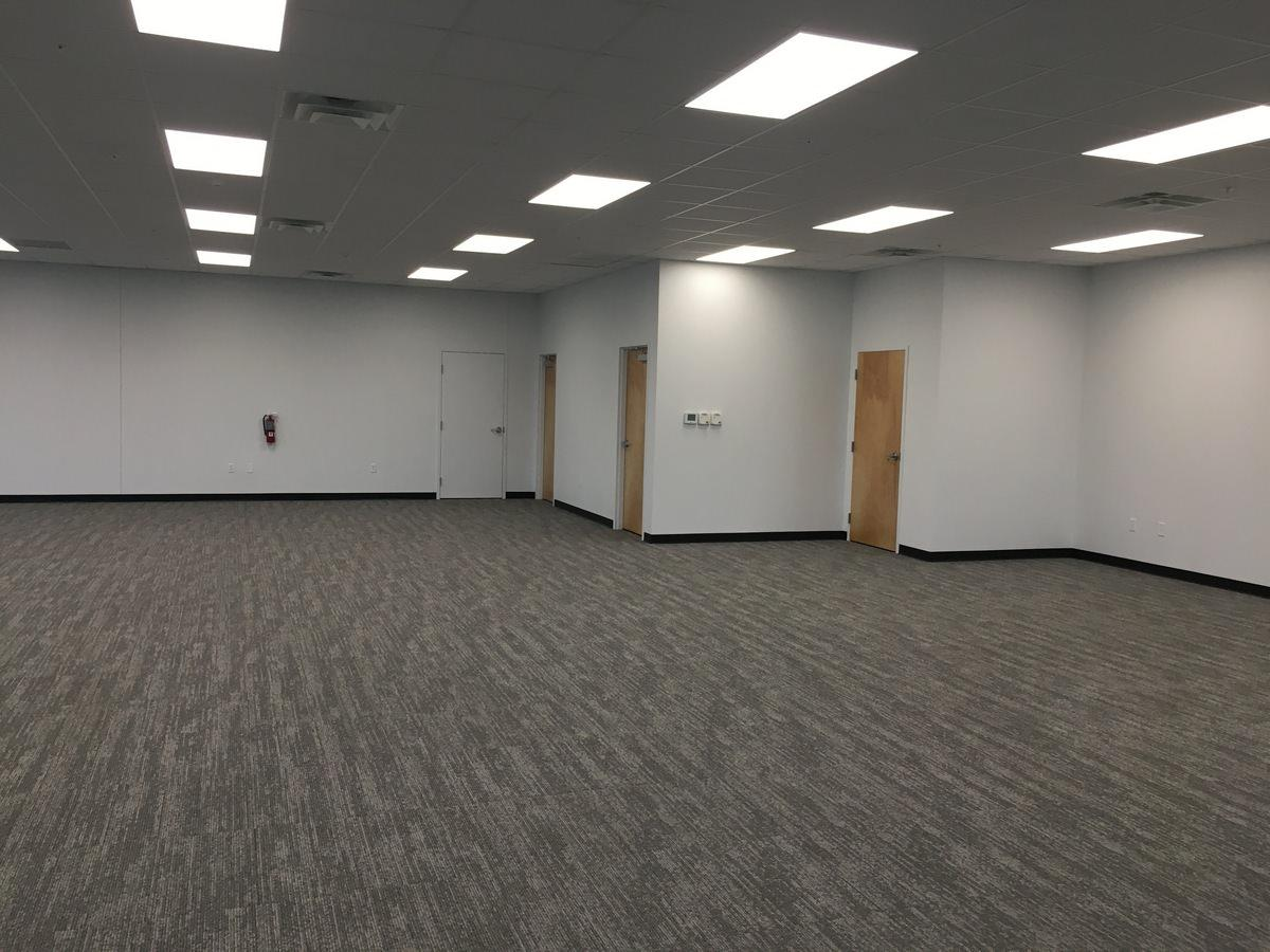 Open Office Construction by GC for Orlando Warehouse