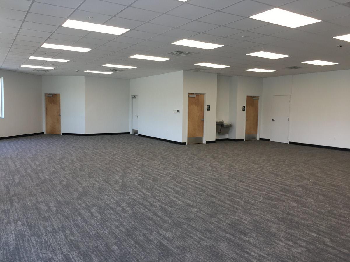 Open Office Warehouse Construction by Orlando GC