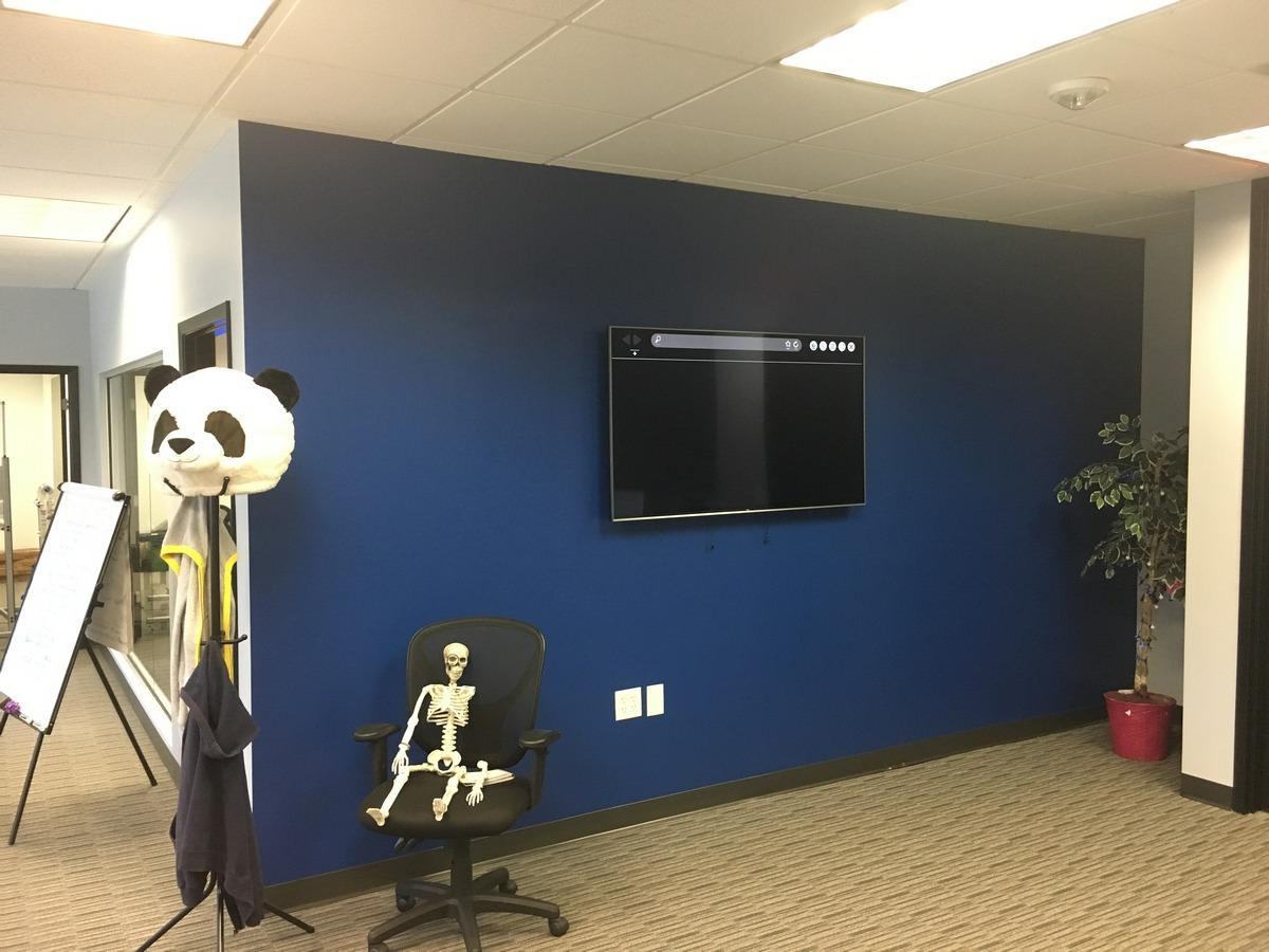 Orlando Office Space Renovation General Contractor for TV install