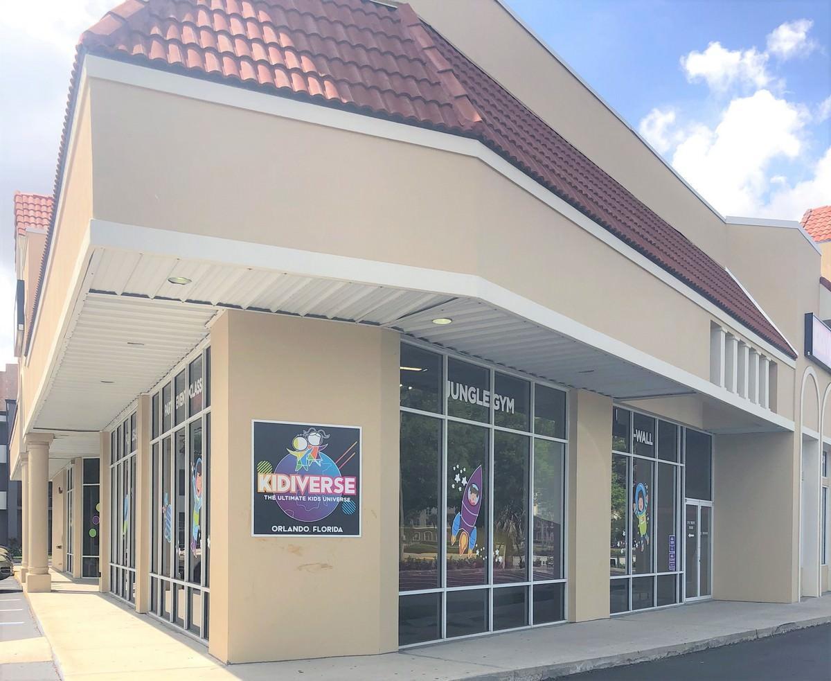 Orlando Renovation by General Contractor for Exterior Corner Facade
