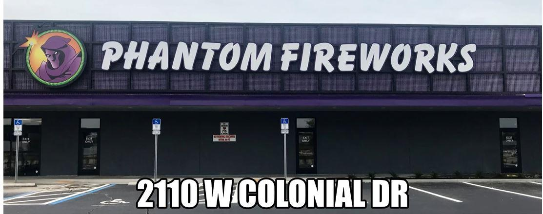 Orlando GC shows Warehouse and Retail Renovation for Phantom Fireworks