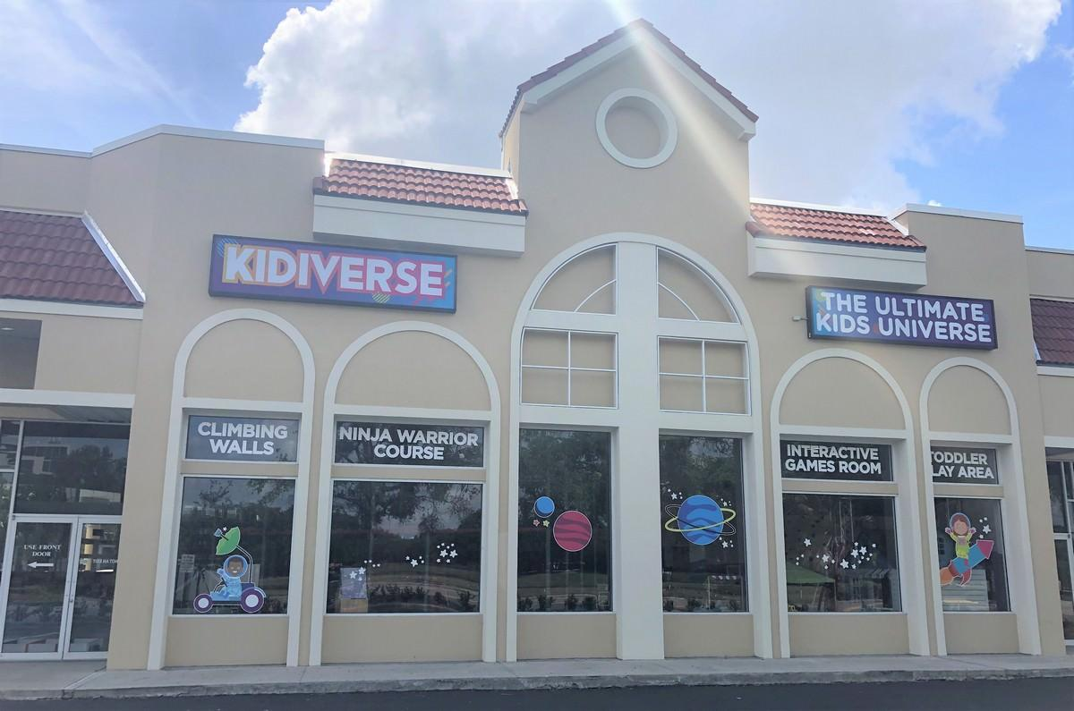 Renovation by Orlando General Contractor for Kidiverse