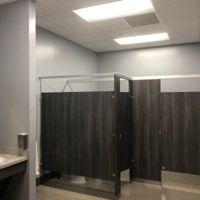 Orlando General Contractor for Office Space Bathroom Toilet Partitions