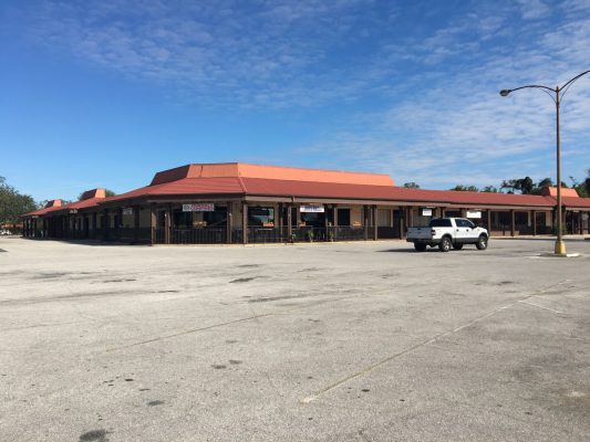 Before Shopping Plaza Façade by Orlando GC at Fort Gatlin