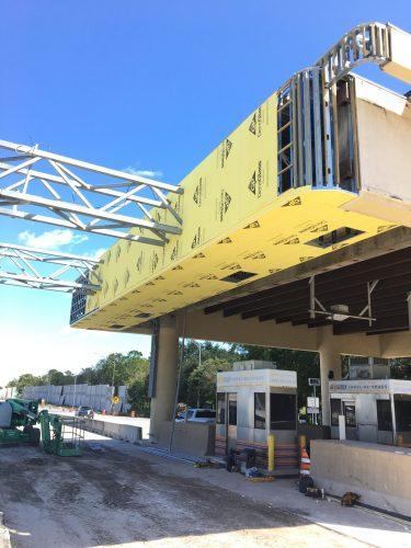 Orlando General Contractor starting denglass installation