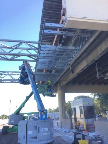 Orlando General Contractor installing Metal Framing