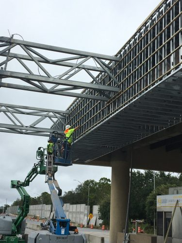 Orlando General Contractor installation of wood blocking