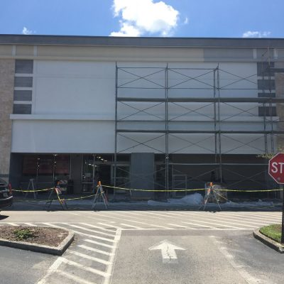 Completing Commercial GC Painting of Facade
