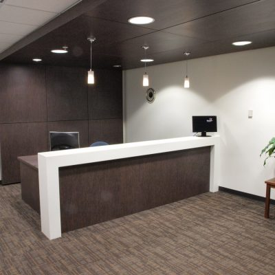Lake Mary Commercial General Contractor - Reception Desk