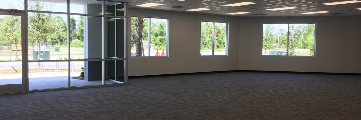 GC Office Construction in Warehouse in Orlando