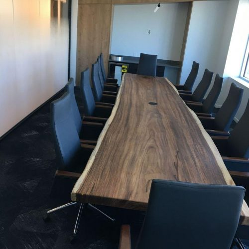 Office Renovation General Contractor Build Out Conference Room