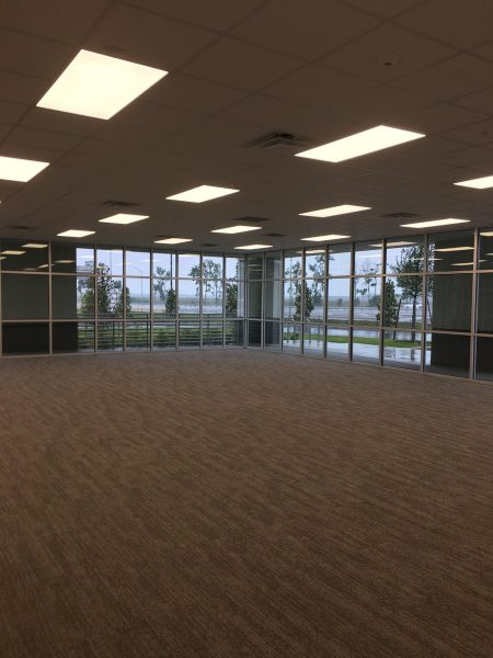 Office Construction by GC for Storefront in Orlando Warehouse