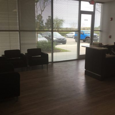 Orlando Industrial Warehouse General Contractor for Office Lobby