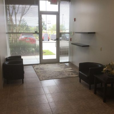 Orlando Industrial Warehouse General Contractor for Waiting Area