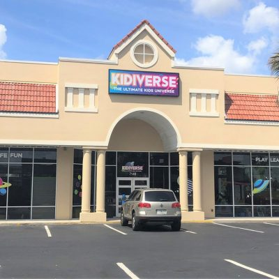 Orlando Renovation Entry After Facade