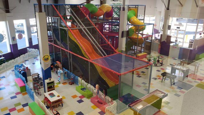 Orlando Renovation for Kidiverse interior by General Contractor