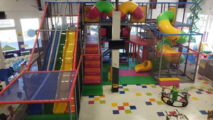 Renovation of Interior of Kidiverse Playground by Orlando General Contractor