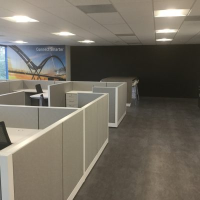 Orlando Tenant Build Out Open Office Cubicles