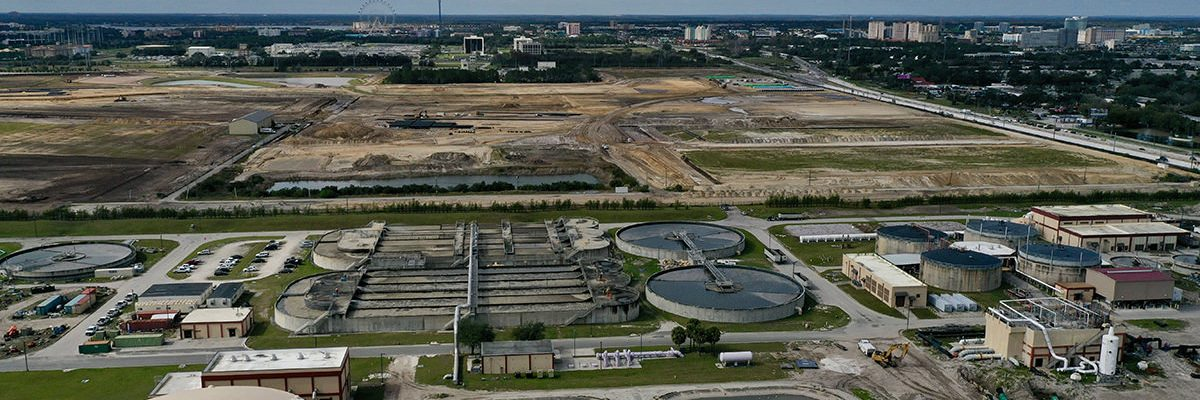 Orlando General Contractor Renovation for Water Reclamation Center
