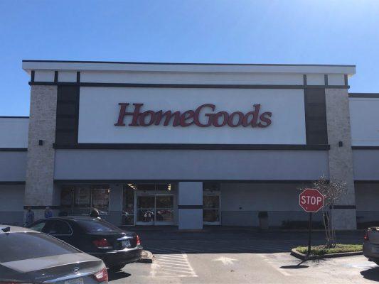 Commercial GC for Renovated Façade for HomeGoods in Brandon