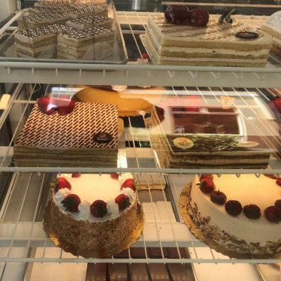 Restaurant Construction General Contractor for Cake Shelves