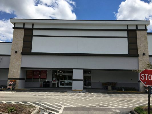 Commercial GC waiting on sign for new Façade for HomeGoods