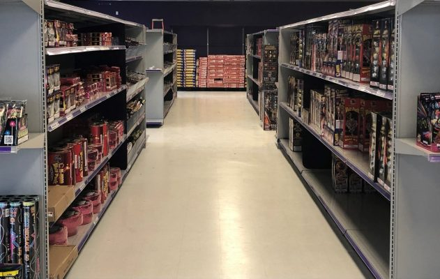 Commercial GC in Orlando with Retail Store Renovation for new shelving
