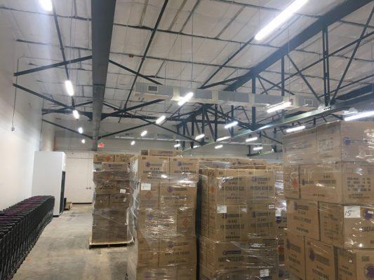 Commercial GC for Warehouse Renovation for Phantom Fireworks